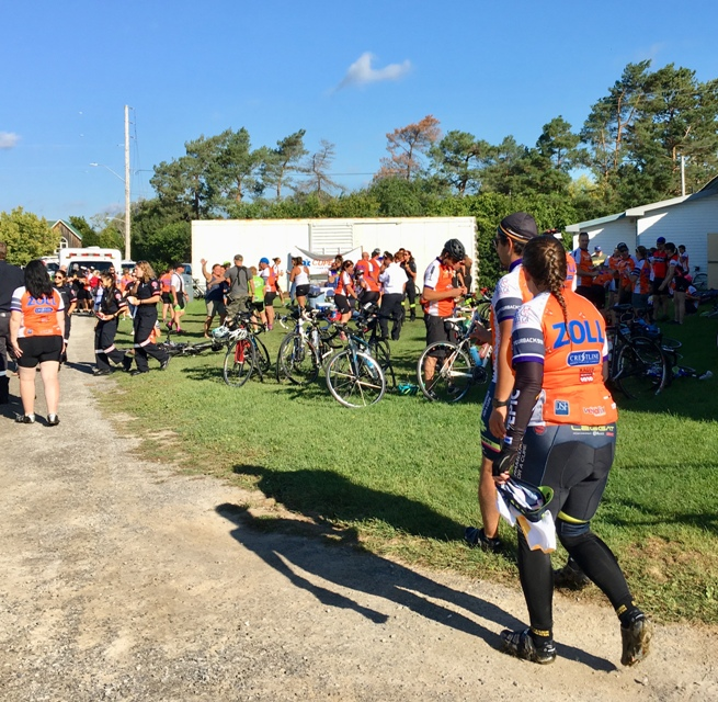 Paramedic Ride Stops in Merrickville